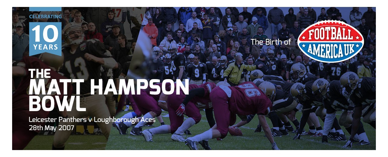 The Matt Hampson Bowl And The Birth Of Football America UK