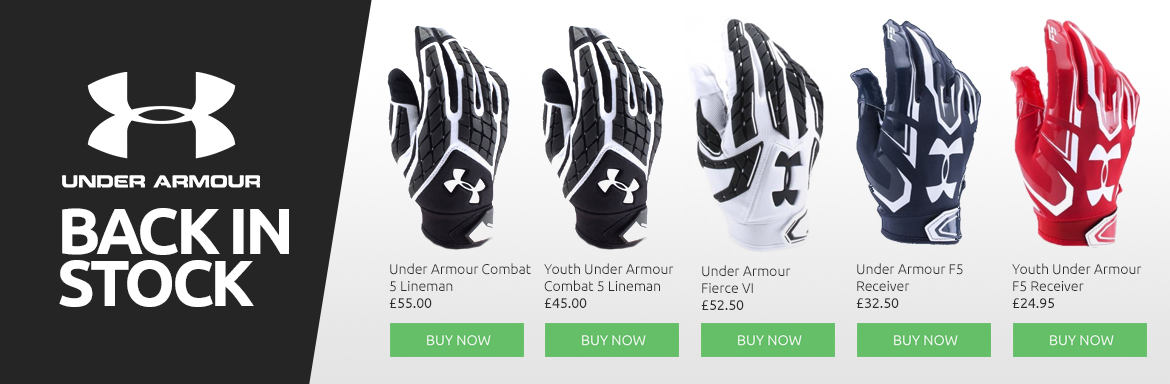 UA - Gloves Back In Stock