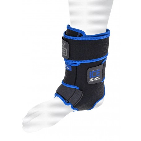 Shock Doctor Ice Recovery Compression Ankle Wrap