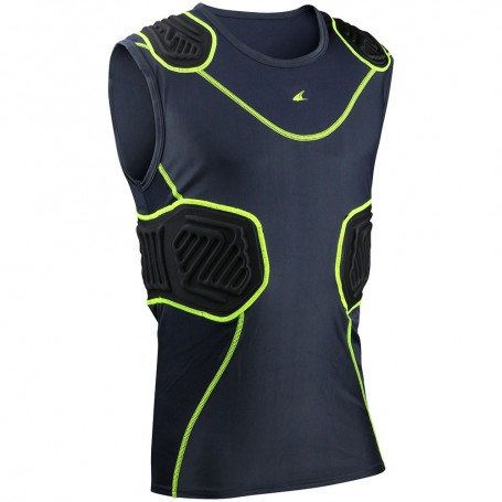 Champro Sports Bull Rush Padded Compression Shirt Youth
