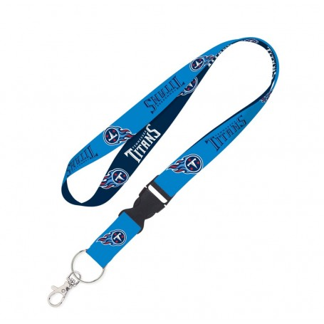 """Tennessee Titans 1"""" Lanyard w/ Detachable Buckle"""