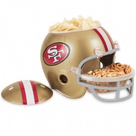 San Francisco 49ers Snack-Helm