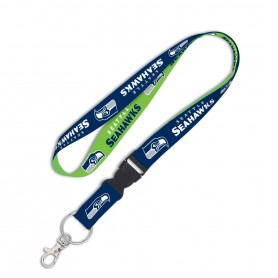 "Seattle Seahawks 1"" Lanyard w/ Detachable Buckle"