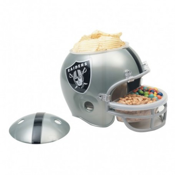 Oakland Raiders Snack Helmet