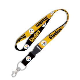 "Pittsburgh Steelers 1"" Lanyard w/ Abnehmbare Schnalle"