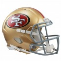 San Francisco 49ers Full-Size Riddell Revolution Speed-Authentic Replica-Helm