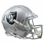 Oakland Raiders Full-Size Riddell Revolution Speed Authentic Helmet