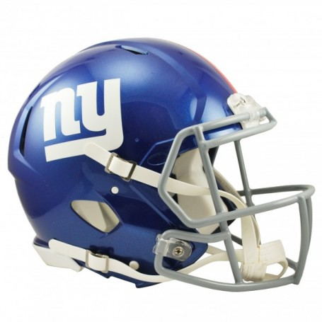 New York Giants Full-Size Riddell Revolution Speed-Authentic Replica-Helm
