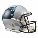 Carolina Panthers Full-Size Riddell Revolution Speed Authentic Helmet
