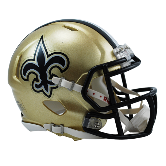 New Orleans Saints Replica Mini Speed Helmet
