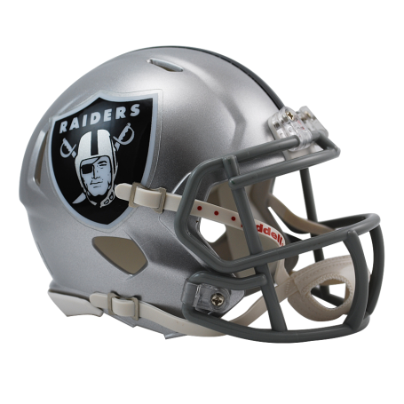 Raiders D'Oakland Réplique De Vitesse Mini Casque