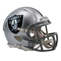 Oakland Raiders Replica Velocità Mini Casco