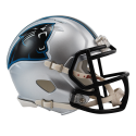 Carolina Panthers Réplica Mini Velocidad De Casco