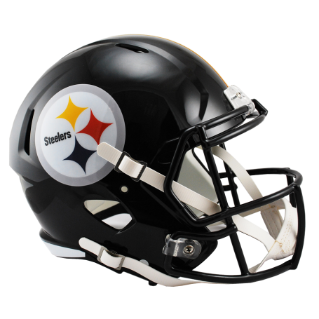 Pittsburgh Steelers In Voller Größe Riddell Speed-Replica-Helm