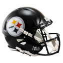 Pittsburgh Steelers Full Size Riddell Speed Replica Helmet