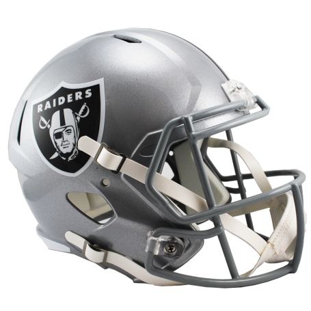 Oakland Raiders Full Size Riddell Speed-Replica-Helm