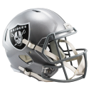 Oakland Raiders Full Size Riddell Speed Replica Helmet