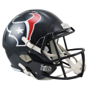 Houston Texans Full Size Riddell Speed-Replica-Helm