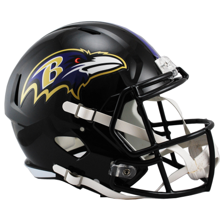 Baltimore Ravens Full Size Riddell Speed Replica Helmet