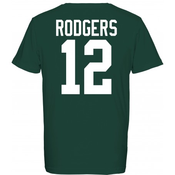 Packers De Green Bay Officiel Joueur De T-Shirt
