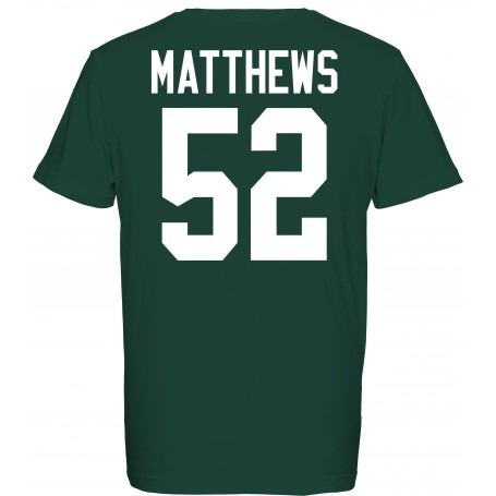 Green Bay Packers Ufficiale Player T-Shirt
