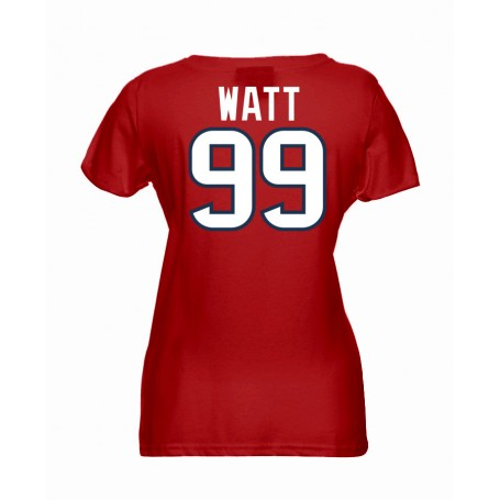 Houston Texans Name And Number Ladies T-Shirt