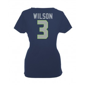 online store a043c 56b55 Seattle Seahawks Name And Number Ladies T-Shirt