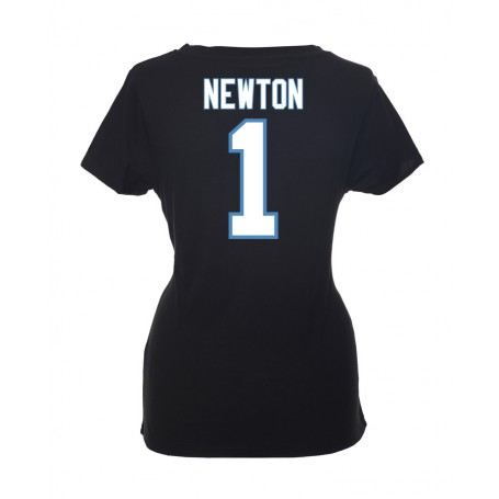 Carolina Panthers Name And Number Ladies T-Shirt 2db65f9c6