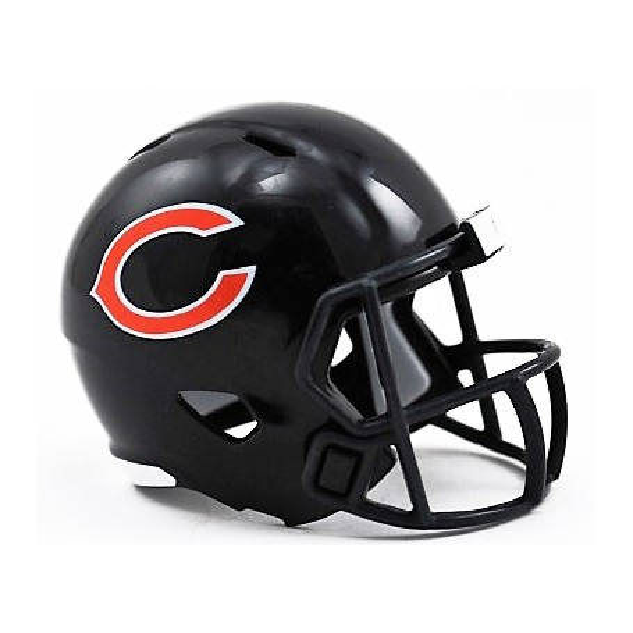 Chicago Bears Riddell NFL de la Poche de Vitesse Pro Casque