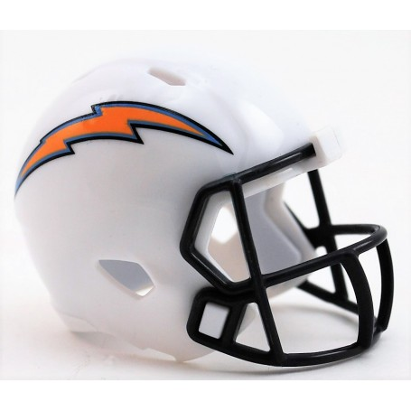 Los Ángeles Cargadores Riddell de la NFL Speed Pocket Pro Casco