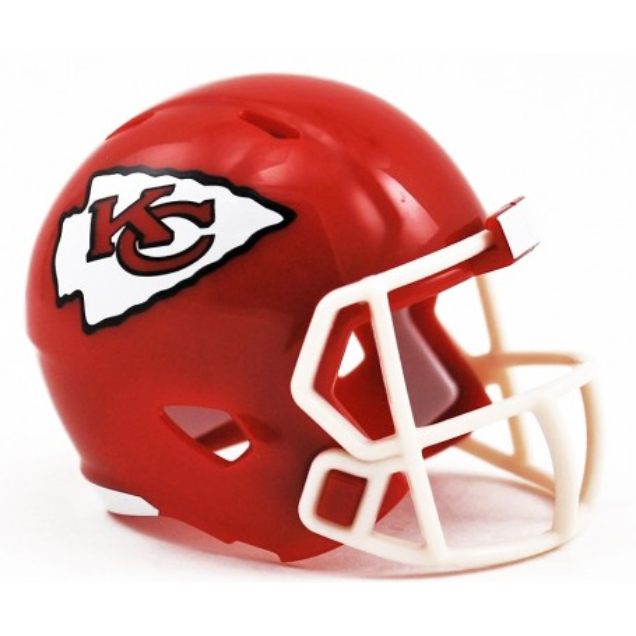Kansas City Chiefs Riddell NFL Speed Pocket Pro Helmet