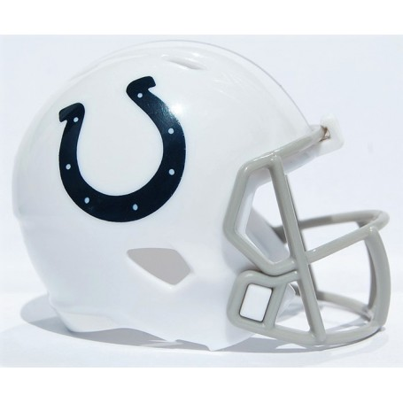 Indianapolis Colts Riddell NFL Speed Pocket Pro Helmet