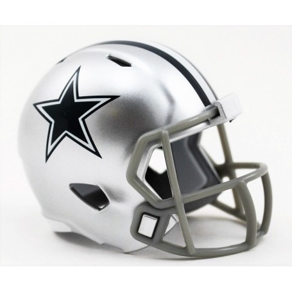 Los Vaqueros de Dallas Riddell de la NFL Speed Pocket Pro Casco