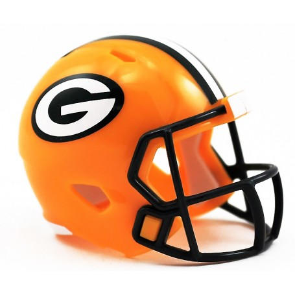 Green Bay Packers Riddell NFL Velocità Pocket Pro Casco