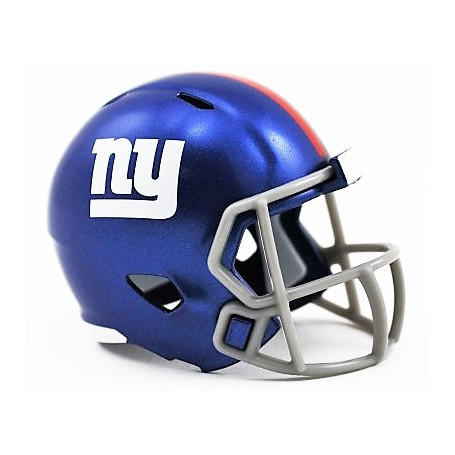 Los Gigantes de nueva York Riddell de la NFL Speed Pocket Pro Casco