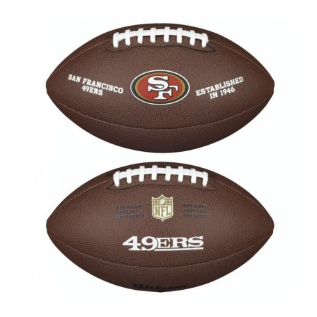 San Francisco 49ers Wilson NFL Full Size Composite-Fußball
