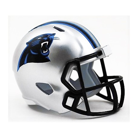 Carolina Panthers Riddell de la NFL Speed Pocket Pro Casco