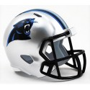 Panthers de la caroline Riddell NFL de la Poche de Vitesse Pro Casque