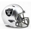 Los Oakland Raiders Riddell de la NFL Speed Pocket Pro Casco