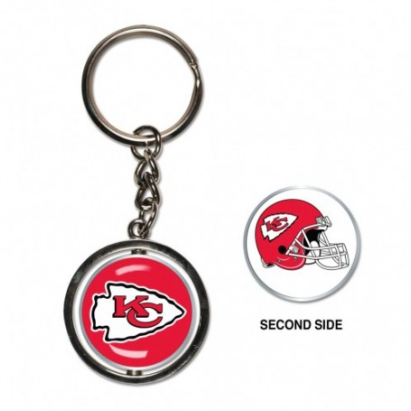 Kansas City Chiefs Spinner Schlüsselanhänger