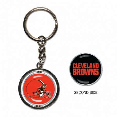 Cleveland Browns Spinner Anillo De Claves