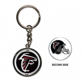 Atlanta Falcons Spinner Key Ring