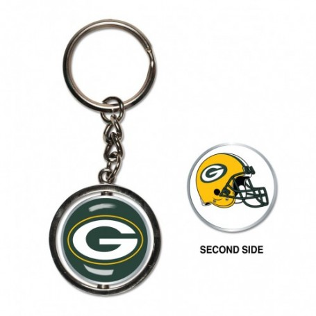 Green Bay Packers Spinner Key Ring