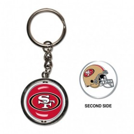 San Francisco 49ers Spinner Key Ring