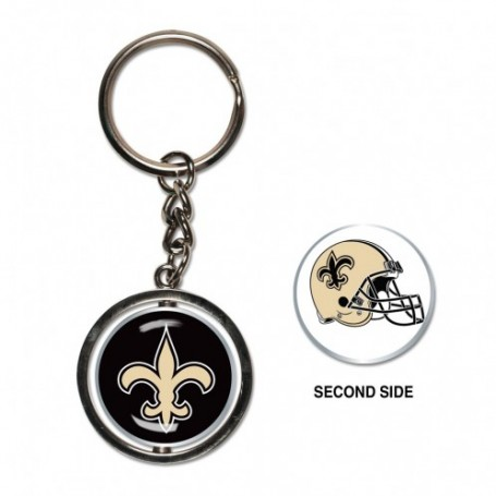 New Orleans Saints Spinner Key Ring