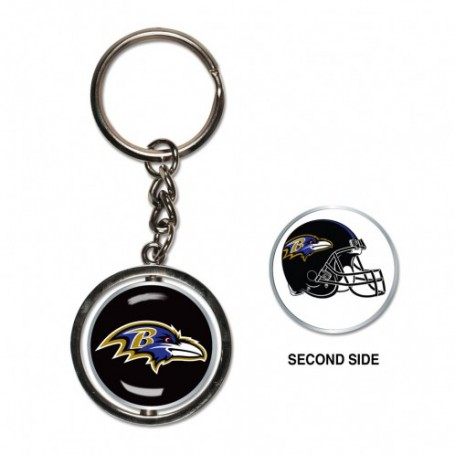 Baltimore Ravens Spinner Key Ring