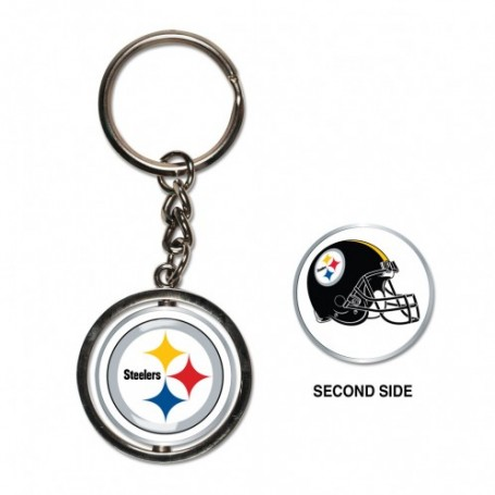 Pittsburgh Steelers Spinner Key Ring