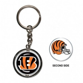 Cincinnati Bengals Spinner Key Ring