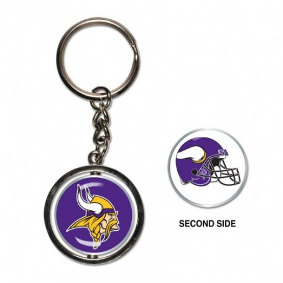 Minnesota Vikings Spinner Key Ring