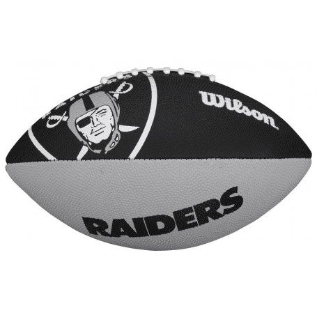 Raiders d'Oakland Wilson NFL Logo de l'Équipe de Football Junior